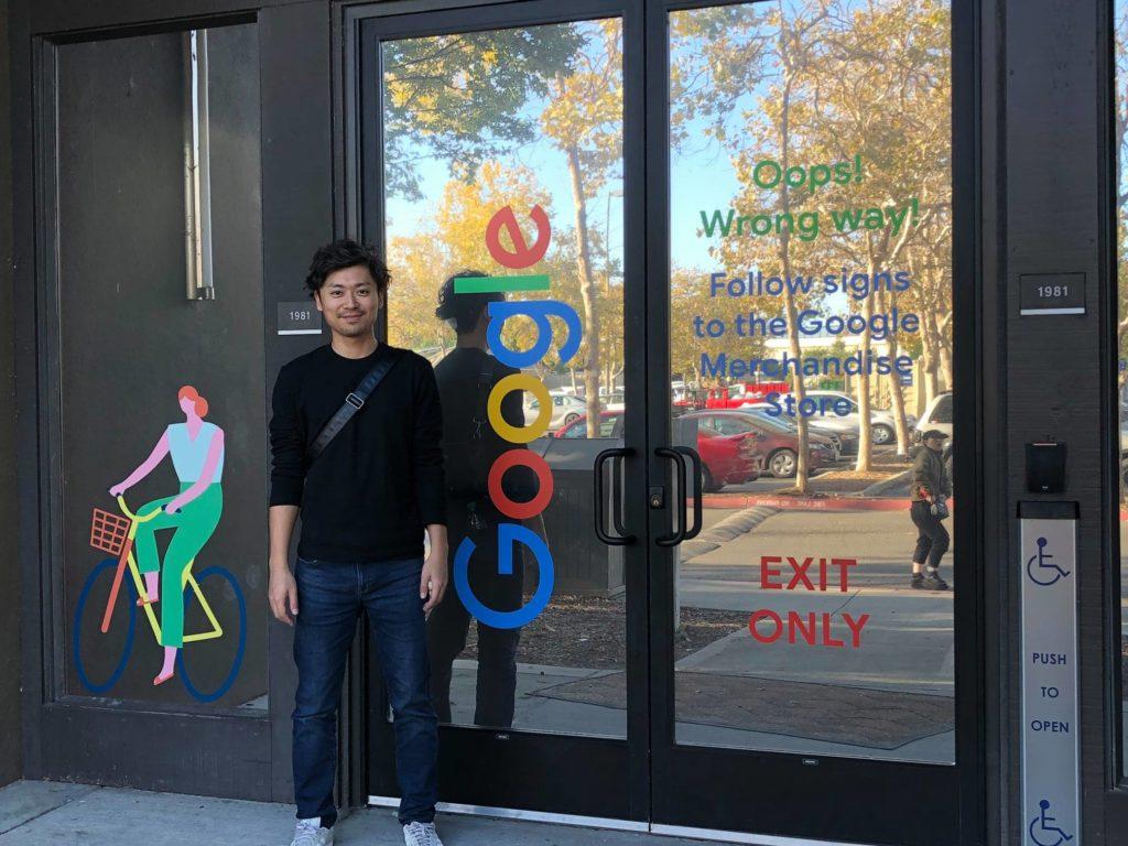 サイトM&A(サイト売買)の本場アメリカにてグーグル見学